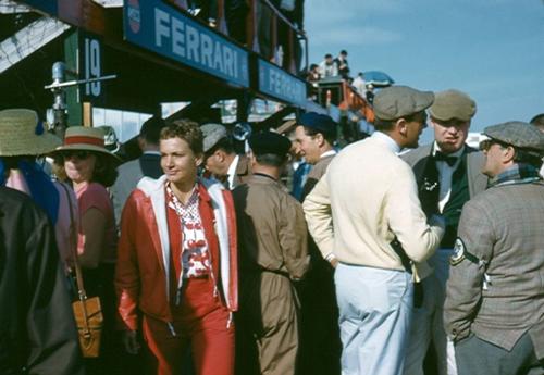 Denise & Mike at Sebring 1957/8 (by Nigel Smuckatelli)