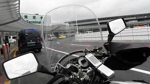 バイク便@成田空港第一ターミナル