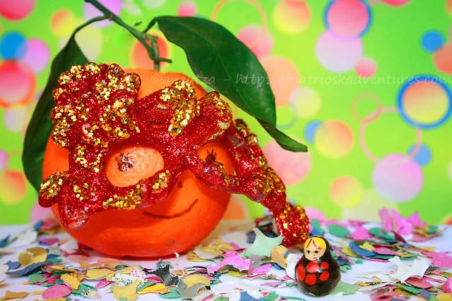 immagini foto frutta divertente fantasiosa  arancia divertente