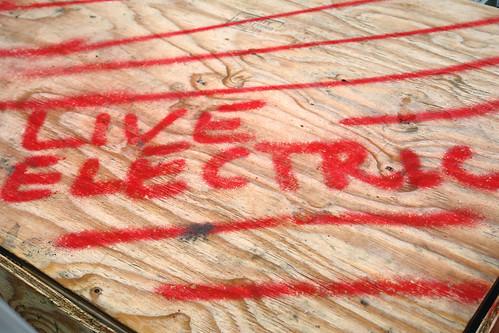 live electric | conEd graffiti
