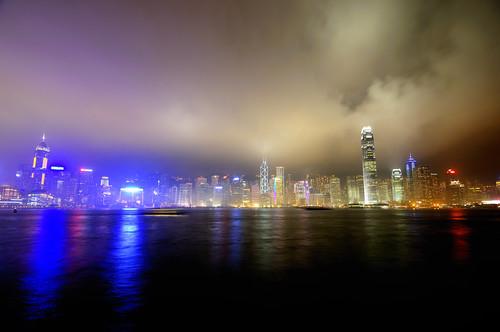 Hong Kong lights...