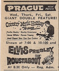 1966 Elvis Roustabout (Prague Theatre, New Prague, MN)