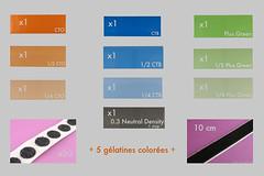 maboutiquephoto.fr (olivier.buhler) Tags: photo flash rosco gel gelatine filtre clairage filtres glatine maboutiquephotofr