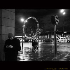 Wednesday 18, 20:41 - London Eye