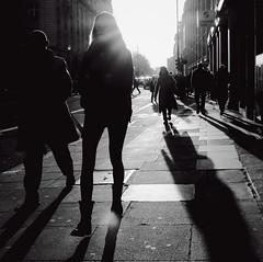 Ain't No Sunshine (Ian Brumpton) Tags: street england blackandwhite bw blancoynegro square blackwhite noiretblanc candid streetphotography silhouettes highcontrast londres shadowplay biancoenero londonist ourownprivateidaho aintnosunshine londonstreetphotography scattidistrada blackwhiteheartbeats