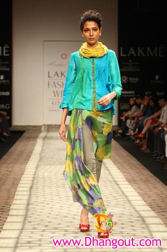 """Krishna Mehta"" ""fashion designer"" ""Lakme Fashon Week bash at Vie Lounge"" ""lakme fashion week 2010"""