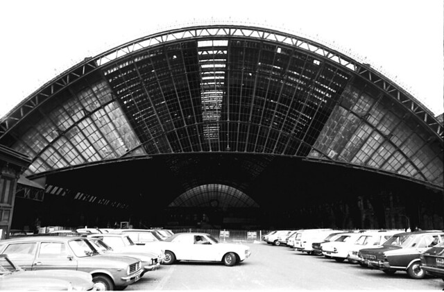 St Enoch Station canopy 1973