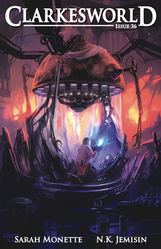 Clarkesworld cover