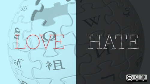 Love, hate, and the Wikipedia contributor culture problem by opensourceway.