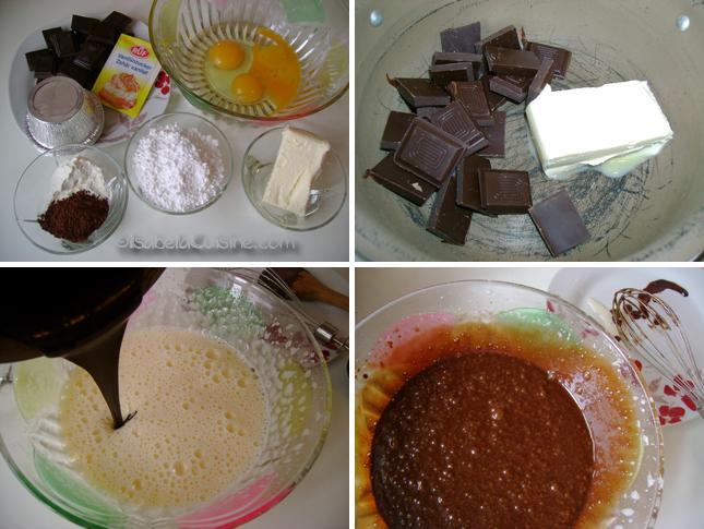 Molten Heart Chocolate Cake