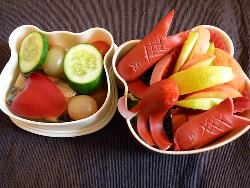 Wiener Fish Bento 9.03.10