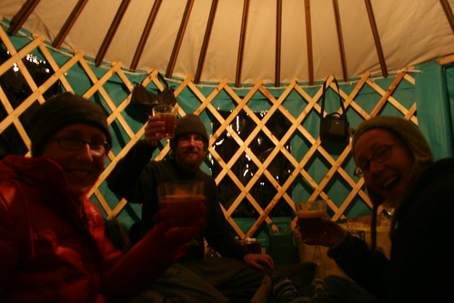 Yurt Party!