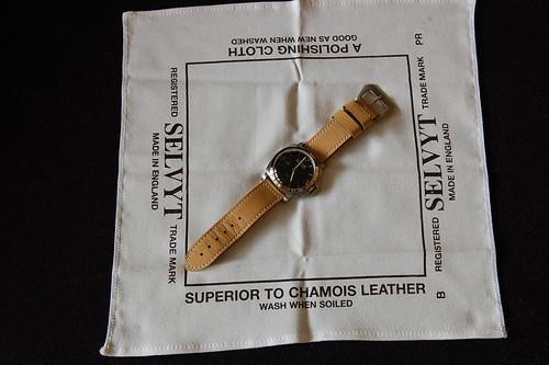 ผ้าเช็ดนาฬิกาอย่างดี