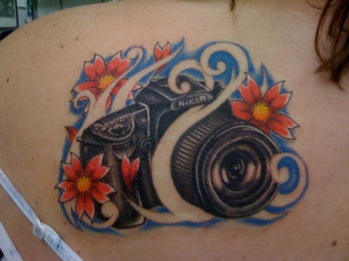 camera tattoo. Camera tattoo. by asimp