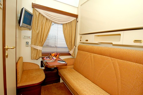 Carriage - Golden Eagle Trans-Siberian, Silver Class by day