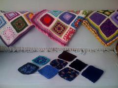 Bienzfive from USA. Thank you so much, Your Squares arrived this morning! They are beautiful, some really pretty blues!