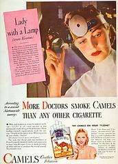 Camel tobacco cigarette ad