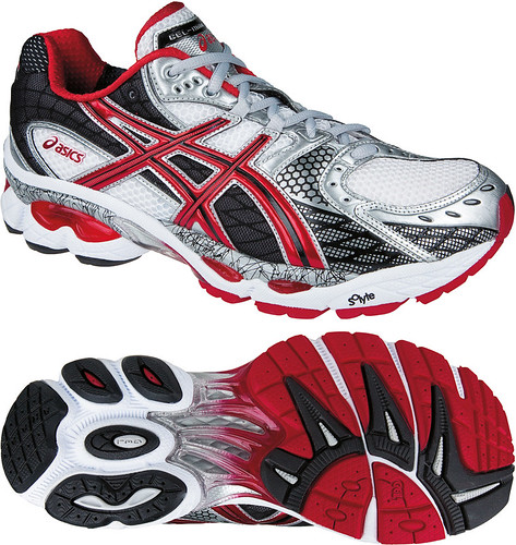I really like Asics GEL Technology