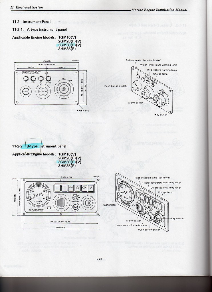 Yanmar Parts Manual 2gm20f on