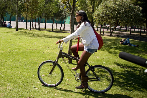 UNAM Cycle Chic Cyclist of the Day