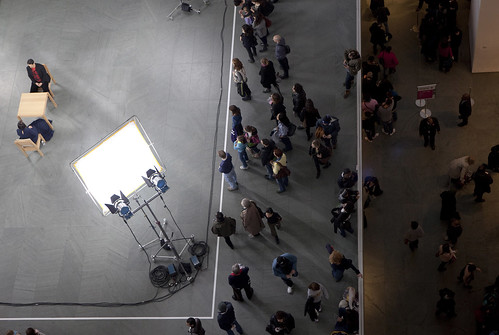 Marina Abramović at the MOMA: Staring contest