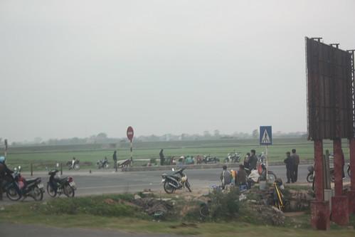 Intersection in Vietnam