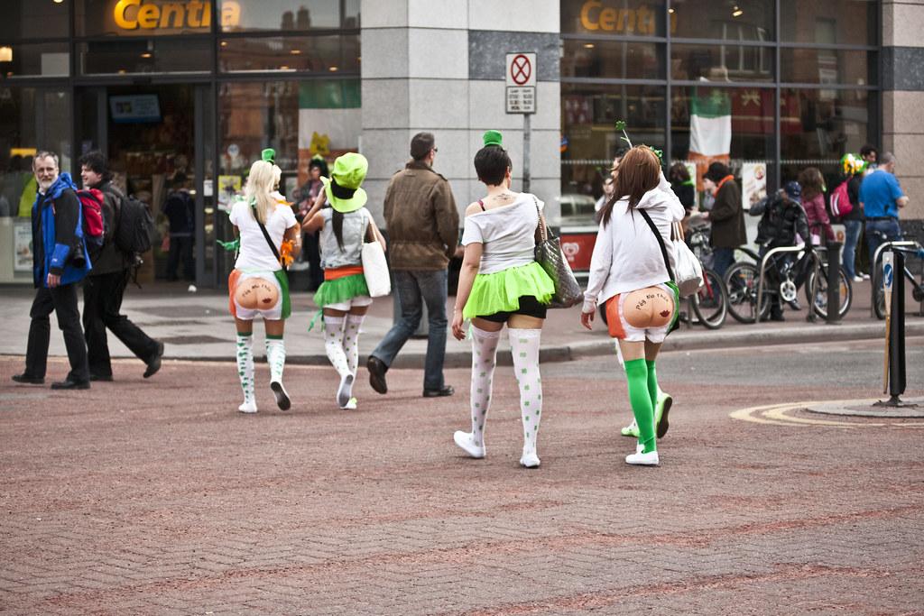 "St. Patrick's Day Parade - ""Kiss My ***"""