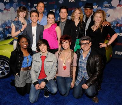 american idol contestants 2010. American Idol 2010 - Season 9