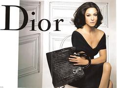 Publicité Dior couture (Monica Bellucci)