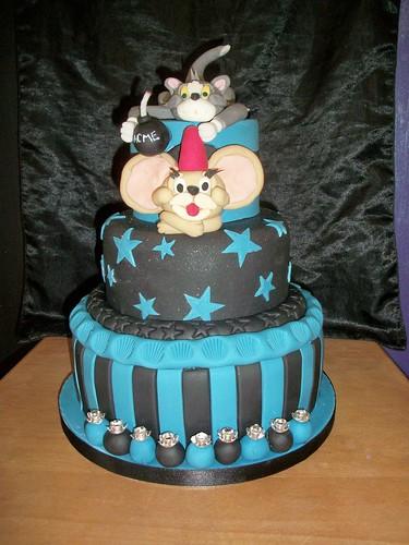 Ashleys tom and jerry cake