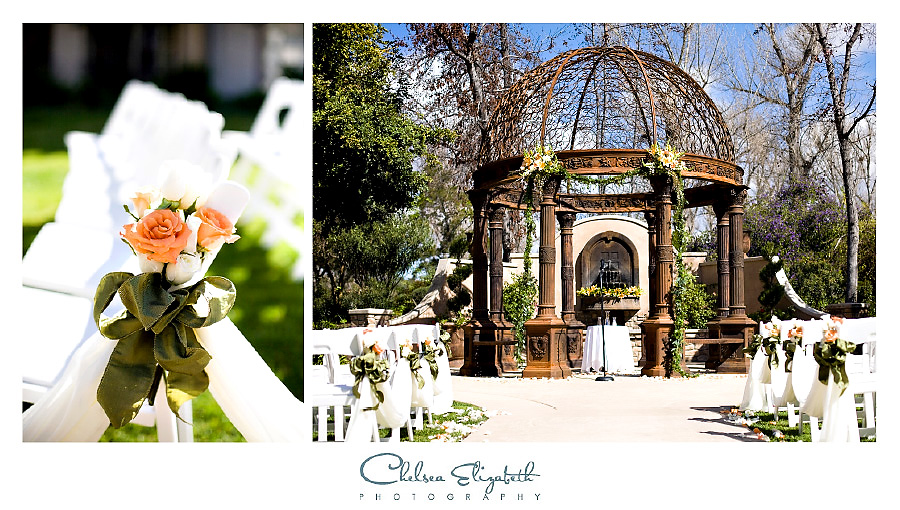 Westlake Village Inn Tuscan Gardens ceremony site