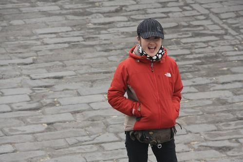 me at Tiantan by you.