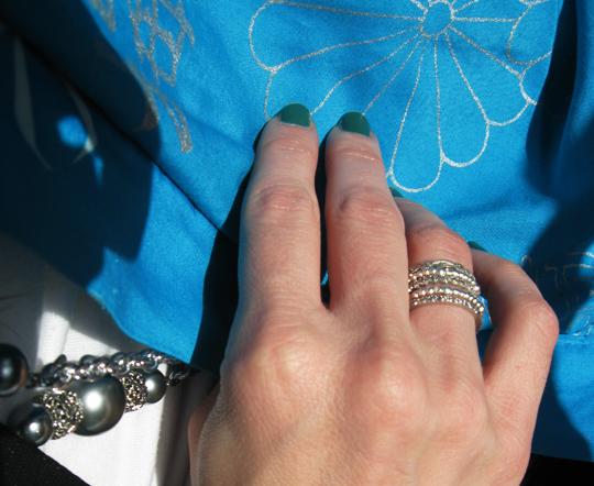 vintage kimono jacket silver accessories