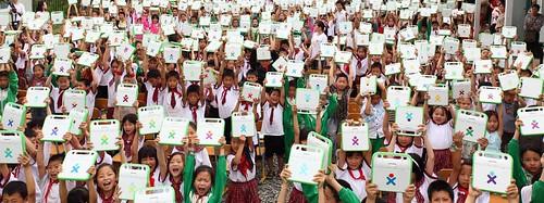Sichuan handout ceremony