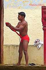 Getting ready for Kushti Wrestling at Tulsi Ghat Akhara, Varanasi (Sekitar) Tags: shirtless india man male wrestling indian varanasi hanuman strong wrestler tulsi benares ghat uttarpradesh akhara sekitar kusthi gymnasia kushti kusti pehlwani ©sekitar