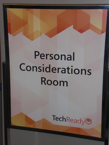 Personal Considerations Room