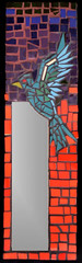 PAJARITO (Mosaicos Color Raiz) Tags: ceramica rojo mosaico colores ave espejo pajaro diseño pajarito mosaicos decorativo teselas