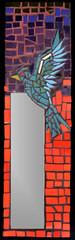 PAJARITO (Mosaicos Color Raiz) Tags: ceramica rojo mosaico colores ave espejo pajaro diseo pajarito mosaicos decorativo teselas