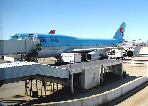 Korea Trip - Korean Air plane