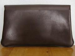 Little Brown Vintage Clutch (jennieorr) Tags: vintage fauxleather vintagepurse vintageclutch fauxsnakeskin