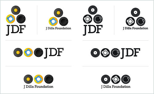 J Dilla Foundation Logo Concept #2 (Variations)