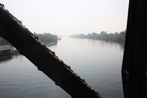 View from the Bridge over the River Kwai