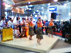 Dance Performance at Thailand Booth