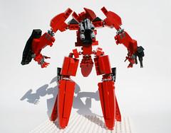 Splinter Z02 (curtydc) Tags: zoe robot lego concept armored zone core mecha mech evangelion moc enders