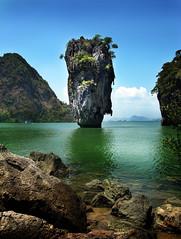 James Bond Movie Set (chi·a·ro·scu·ro) Tags: sea lake water thailand island rocks lagoon phuket phangngabay worldwidelandscapes natureselegantshots thebestofmimamorsgroups yourwonderland flickrsportal