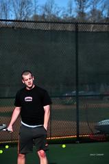 DSC_0294_e (setao86) Tags: college sports sport court athletic teams team athletics university nick highlander tennis racket tenniscourt radforduniversity