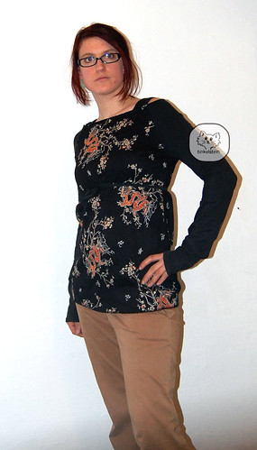 Burda Raglan Shirt pattern - a short review