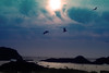 Sunset on Oregon Coast (KennyMB70) Tags: ocean sunset oregon coast photoshopelements platinumheartaward