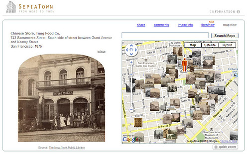 SepiaTown Example - Downtown San Francisco