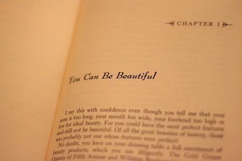 You can be beautiful